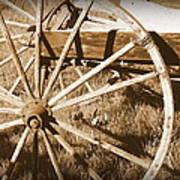 No Gas Needed Buggy Wheels Art Print