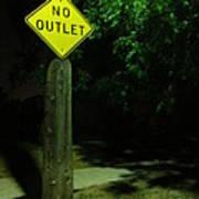 No Way Out Art Print