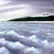 Nobska Point View Art Print