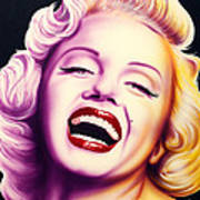 Norma Jean Art Print by Bruce Carter