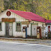 North Carolina Country Store And Gas Station Art Print