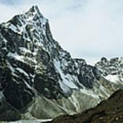 North Face Of Cholatse Peak Towers Art Print