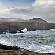 North Mayo, Co Mayo, Ireland Sea Cliffs Art Print