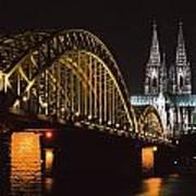 North Rhine, Westphalia, Dom And Art Print