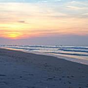 North Topsail Beach Serenity  Art Print