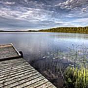 Northern Saskatchewan Lake Art Print