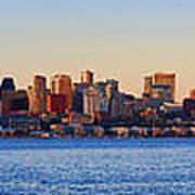 Northwest Jewel - Seattle Skyline Cityscape Art Print