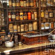 Nostalgia Pharmacy 2 Art Print