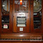 Nostalgic Wurlitzer Player Piano . 7d14400 Art Print