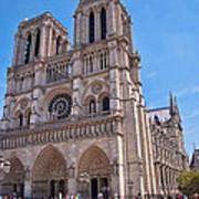 Notre Dame Cathedral Paris France Art Print