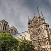 Notre Dame De Paris Print by Jennifer Ancker