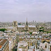 Notre Dame In Paris Art Print