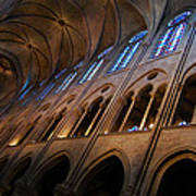 Notre Dame Interior Art Print