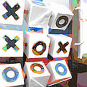 Noughts And Crosses Art Print