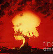 Nuclear Explosion Art Print