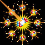 Nuclear Fission Print by David Nicholls