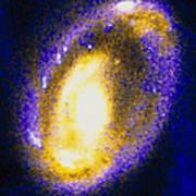 Nucleus Of Cartwheel Galaxy With Knots Art Print
