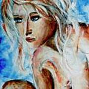 Nude 07 Art Print