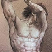 Nude 9 A Art Print