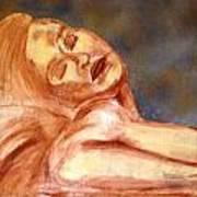 Nude Lady In Repose Art Print
