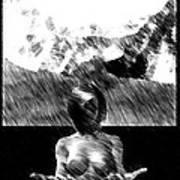 Nude Landscape 02 Art Print