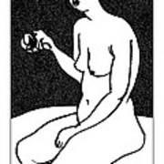 Nude Sketch 36 Art Print