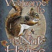 Nut House Art Print