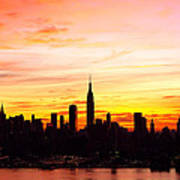 Ny Saturday Sunrise Art Print
