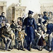 Ny Slum Children, 1864 Art Print