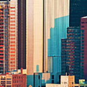 Nyc Colors And Lines II Art Print