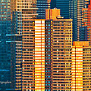 Nyc Colors And Lines IIi Art Print