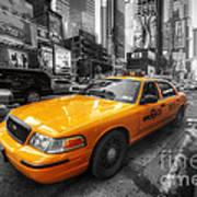 Nyc Yellow Cab Art Print