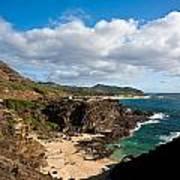 Oahu Coastal Getaway Art Print
