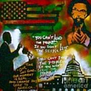 Obama Vs. Cornel Art Print by Tony B Conscious