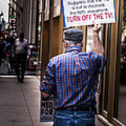 Occupy Chicago V Art Print