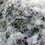 Ocean Bubbles And Ribbons Art Print