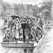 Ocean Grove Ferry, 1878 Art Print