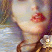 Ocean Pearls Art Print