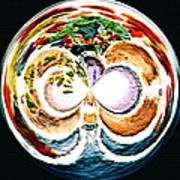 Oceana Orb Art Print