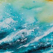 Ocean's Melody Art Print