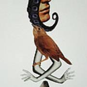 Octomanfishhands Art Print