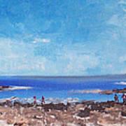 Odiorne Beach Park Nh Art Print by Michel Croteau