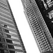 Office Buildings Art Print
