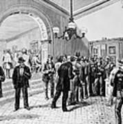 Office-seekers, 1877 Art Print