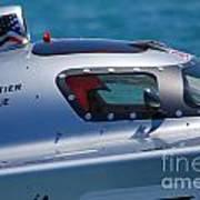 Offshore Racer Cockpit Art Print