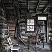 Ohio Cabin Art Print