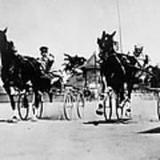 Ohio: Horse Race, 1904 Art Print