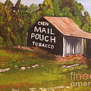 Ohio Mail Pouch Barn Art Print