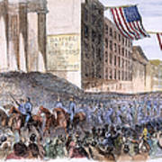 Ohio: Union Parade, 1861 Art Print