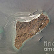 Oil Port, Iran Art Print by NASA / Science Source